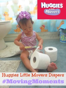 Huggies Little Movers Diapers #MovingMoments + Sweepstakes