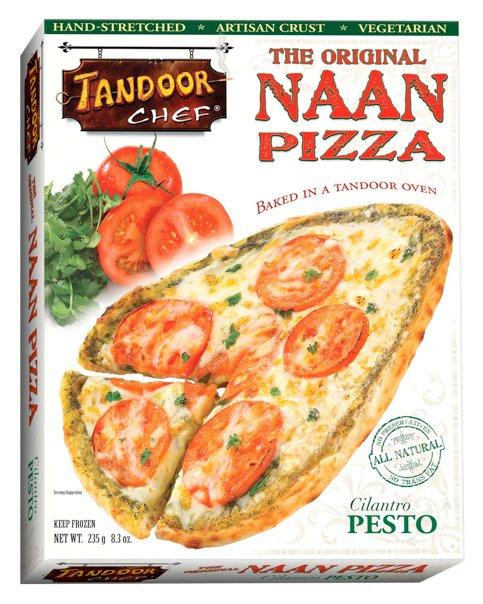 Tandoor chef naan pizza