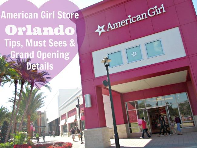 Ameican girl store Orlando