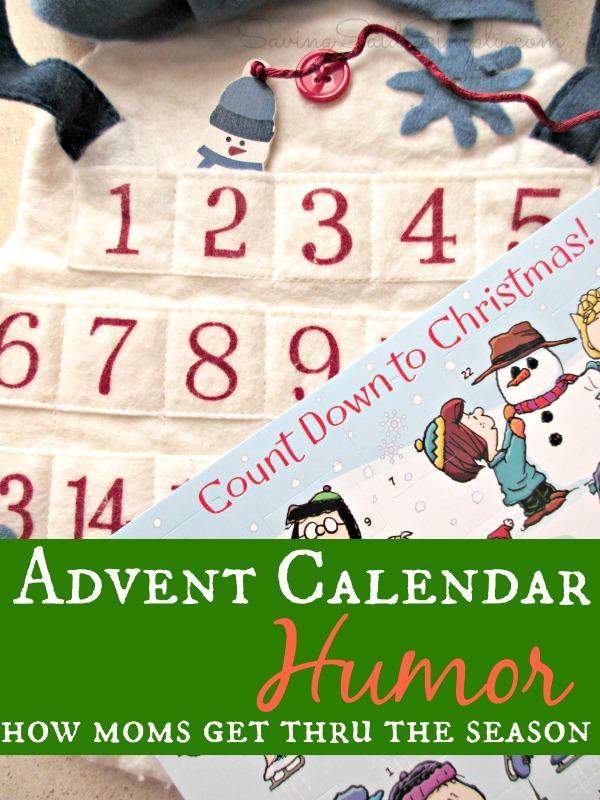 Advent calendar humor
