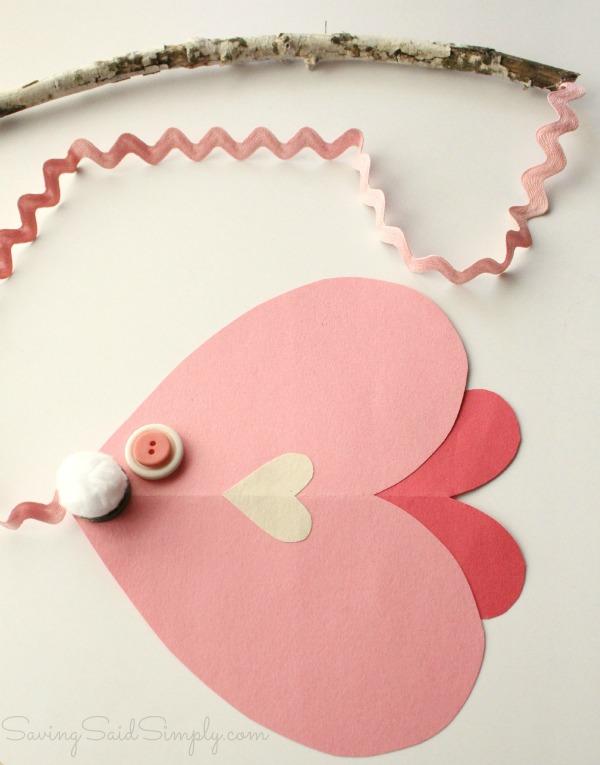 Valentines day fish craft tutorial