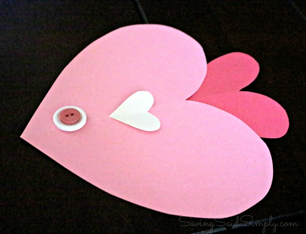 Valentines fish craft