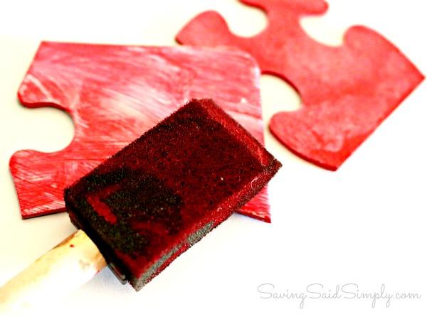 Kids craft puzzle
