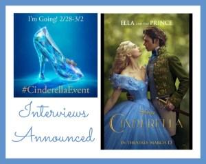 Disney #CinderellaEvent Interviews Announced
