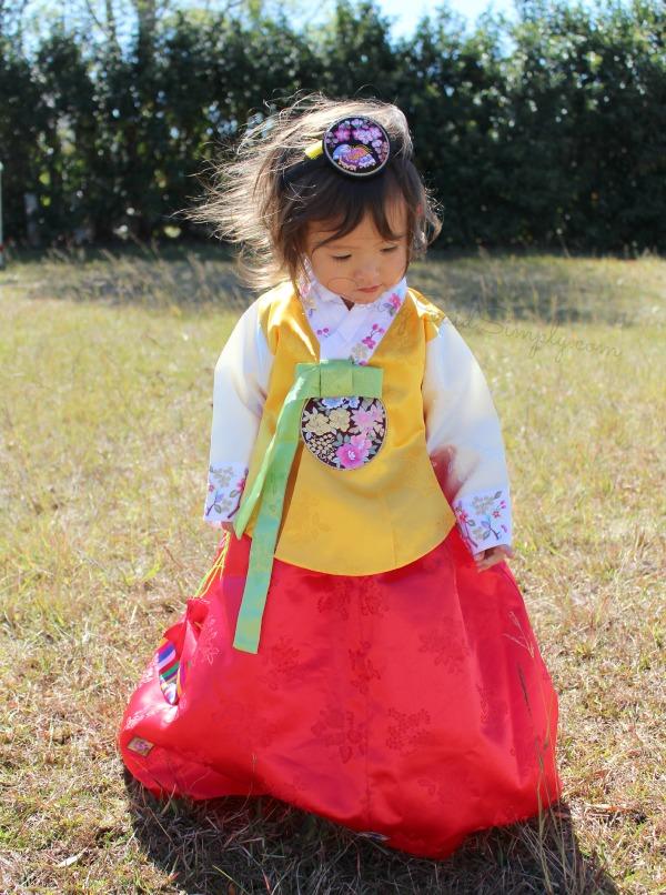 Korean toddler dress