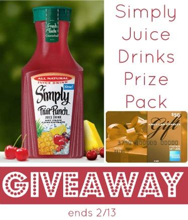 Simply juice giveaway