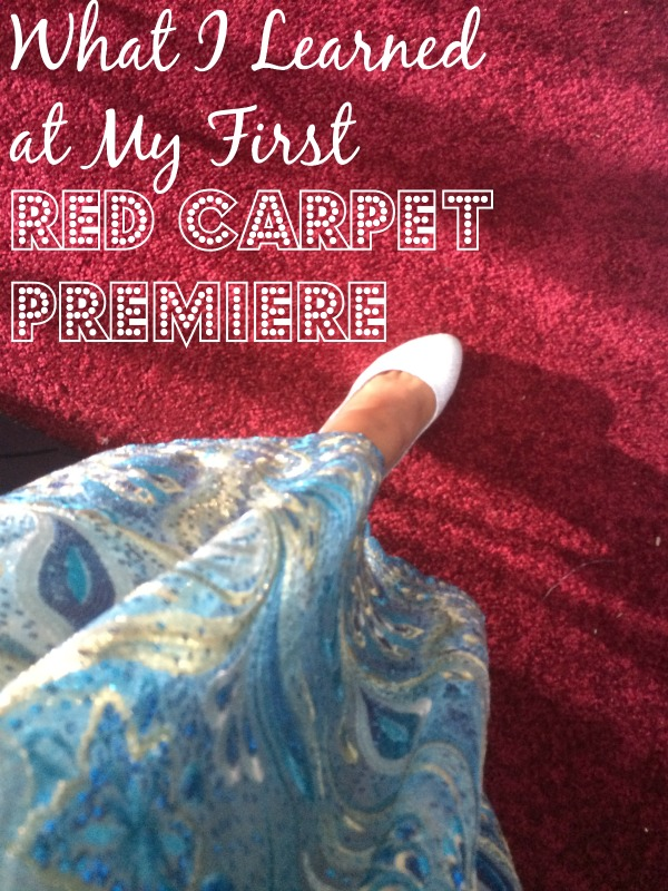 Cinderella red carpet journey