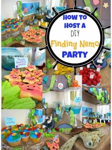 DIY Finding nemo party disneyside