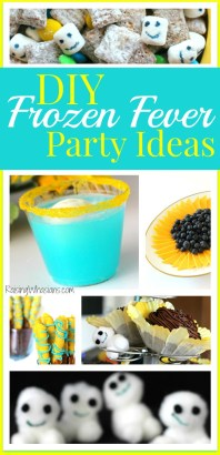 DIY frozen fever party pinterest
