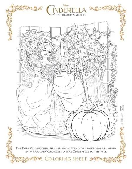 free cinderella printable coloring pages cinderellaevent