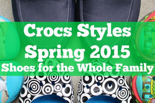 Crocs new styles 2015