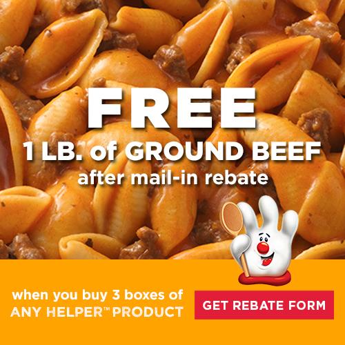 Free beef rebate printable