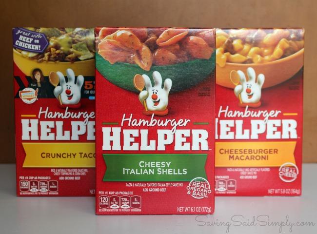 Hamburger helper free beef