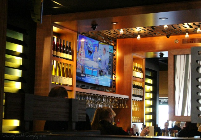 New outback steakhouse bar