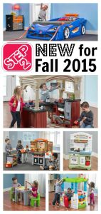 New Fall 2015 Step2 Toys Are Here + HUGE Giveaway