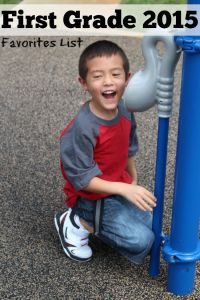 First Grade 2015 | Beginning of the Year Favorites