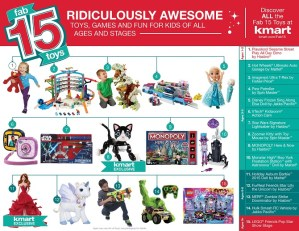 2015 Kmart Fab 15 Holiday Toys Are Here