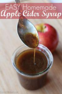 Easy Apple Cider Syrup Recipe + Krusteaz Giveaway
