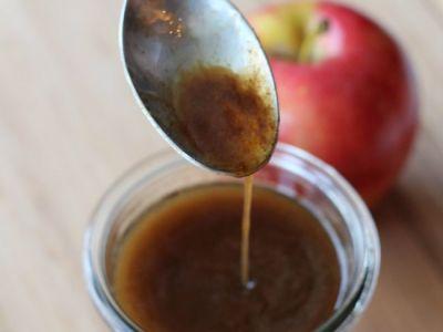 Easy apple cider syrup