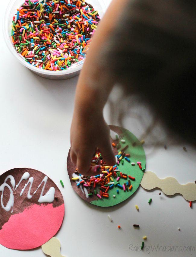 Sprinkles craft for kids