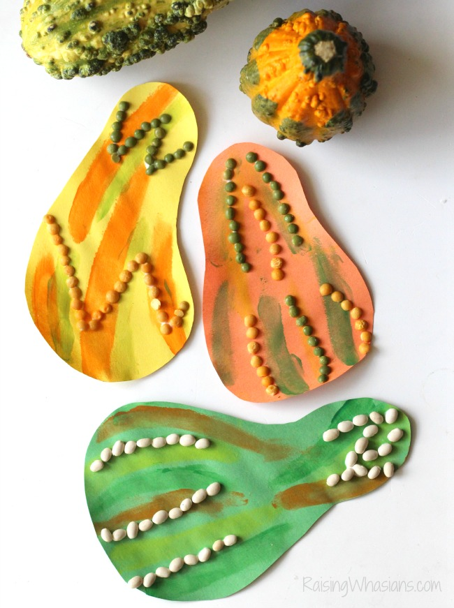 Gourds kids craft