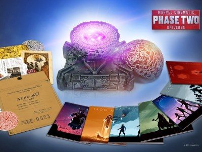 Marvel cinematic universe phase ii blu-ray box set