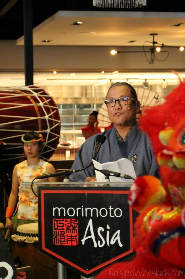 Morimoto Asia grand opening