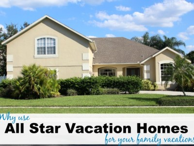 All star vacation homes for your family vacations