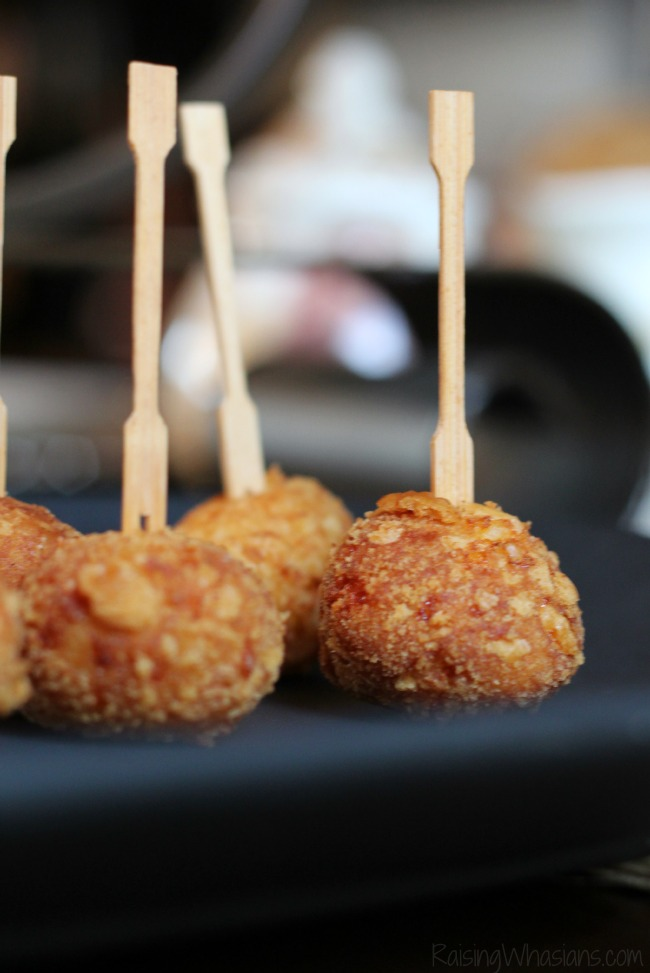 Cheesy Ritz potato balls recipe