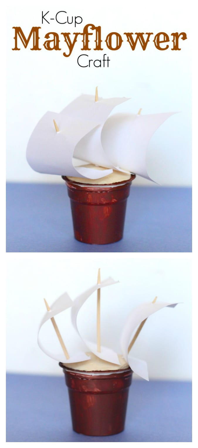 Easy kcup Thanksgiving craft