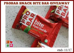 PROBAR Snack Bite Variety Pack Giveaway