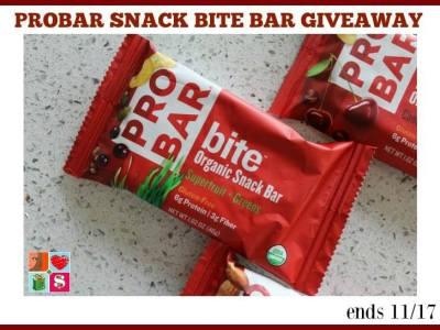 PROBAR variety pack giveaway