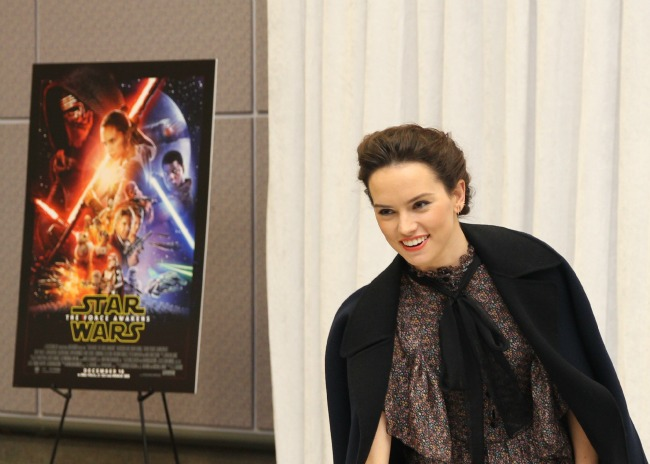 Daisy Ridley interview
