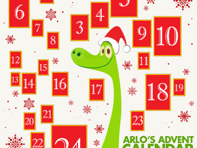 Disney good dinosaur advent calendar