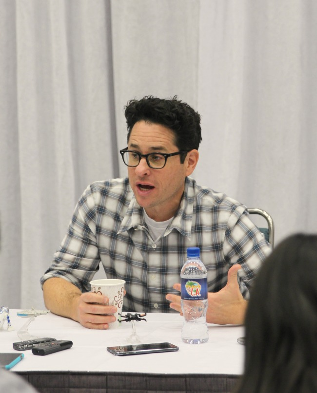 Excluaive JJ Abrams star wars interview