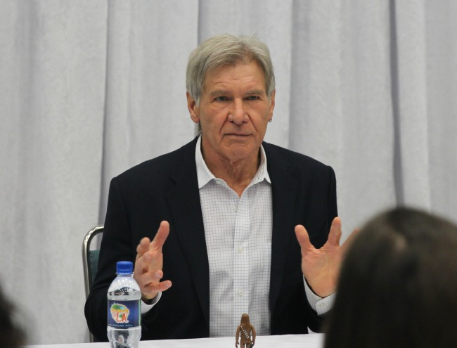 Harrison ford exclusive interview