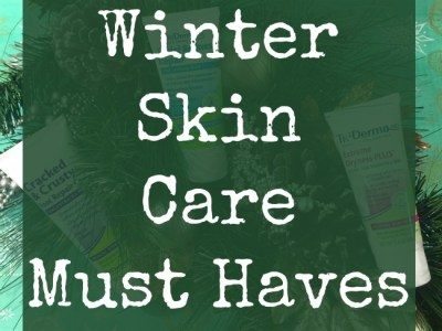 Must have winter skin care products from TriDerma