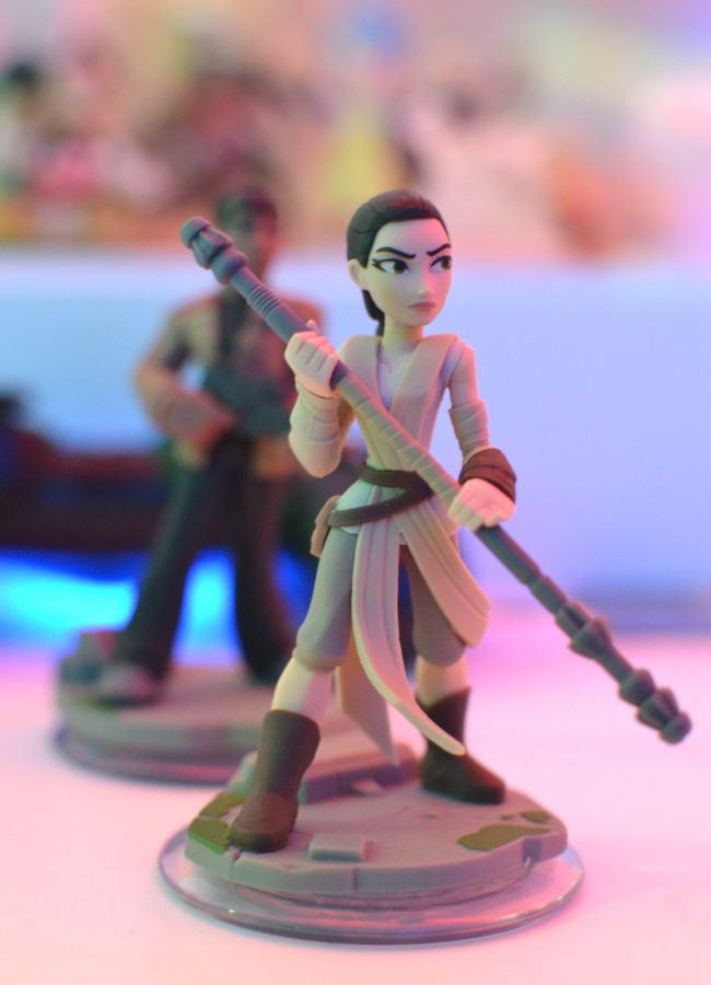 Star wars press event toys