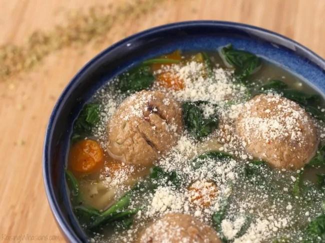 Crockpot Italian wedding soup