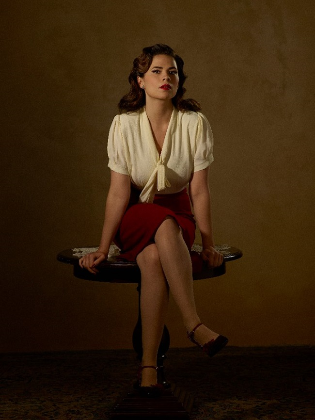 Hayley Atwell interview agent carter