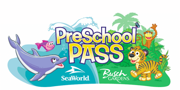 SeaWorld 2016 preschool pass