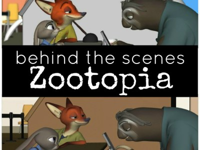 Behind the scenes of Disney Zootopia