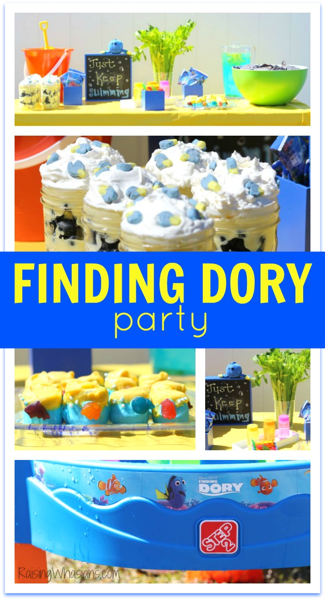 Finding Dory party diy