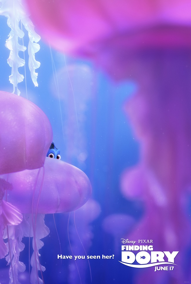 Finding Dory movie posters