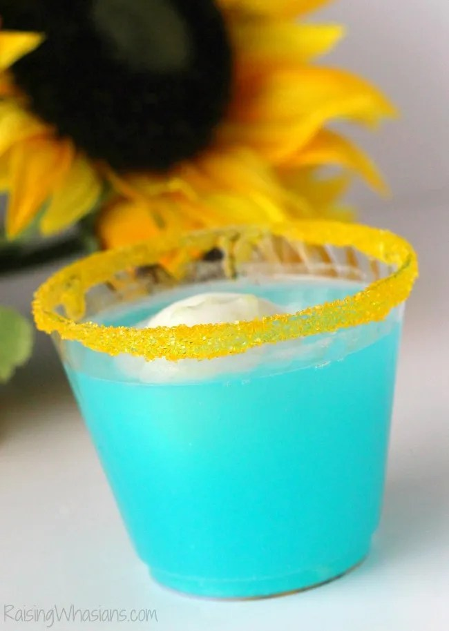 Frozen fever drink idea party