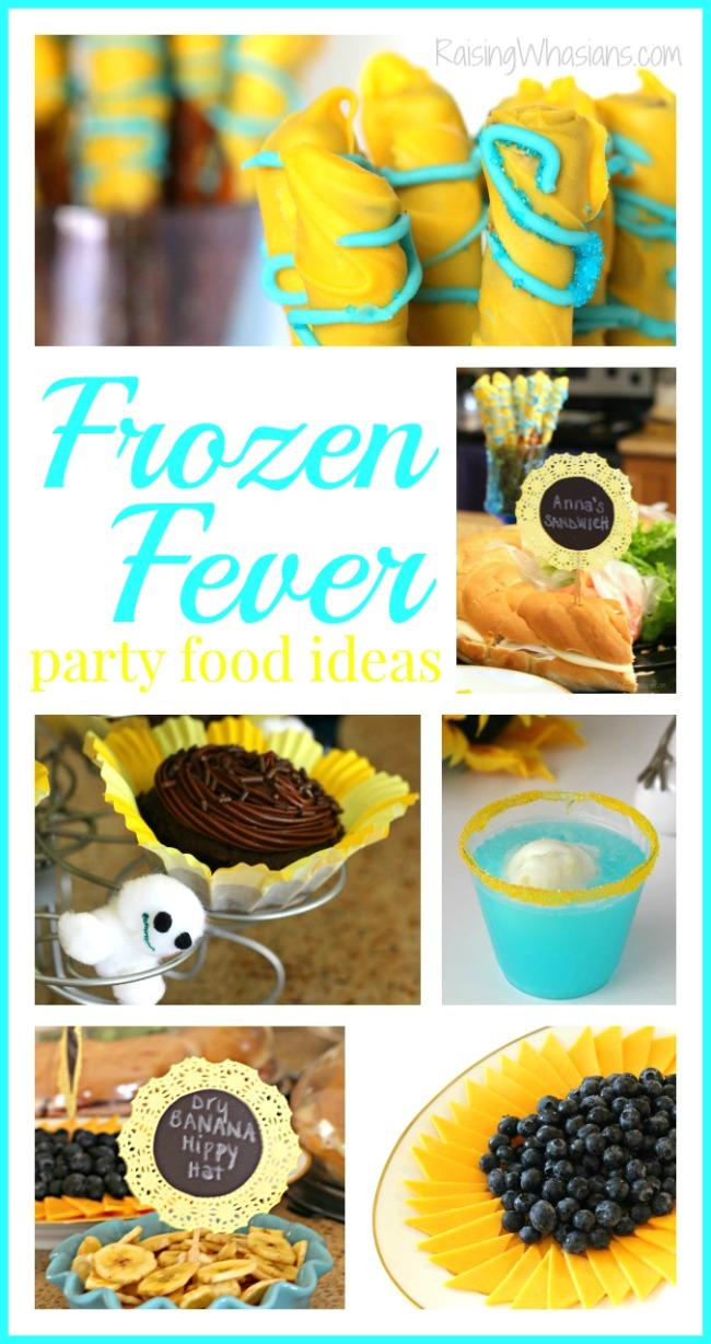 Frozen fever party food recipes