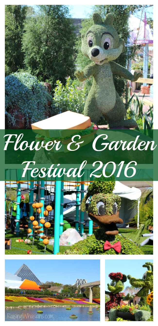 2016 Epcot flower and garden festival