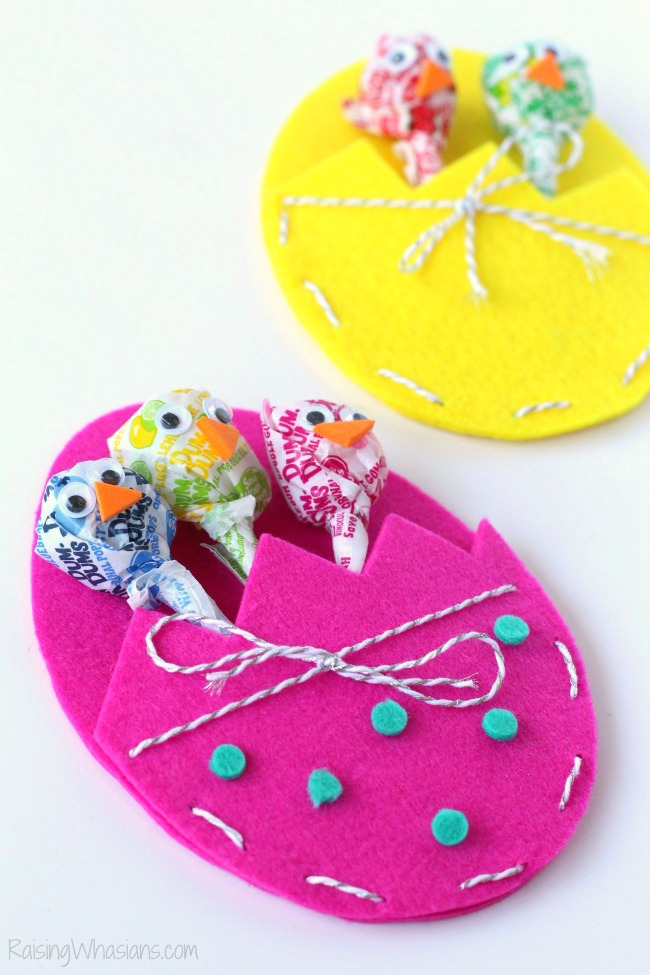 Easter treat pouch DIY craft