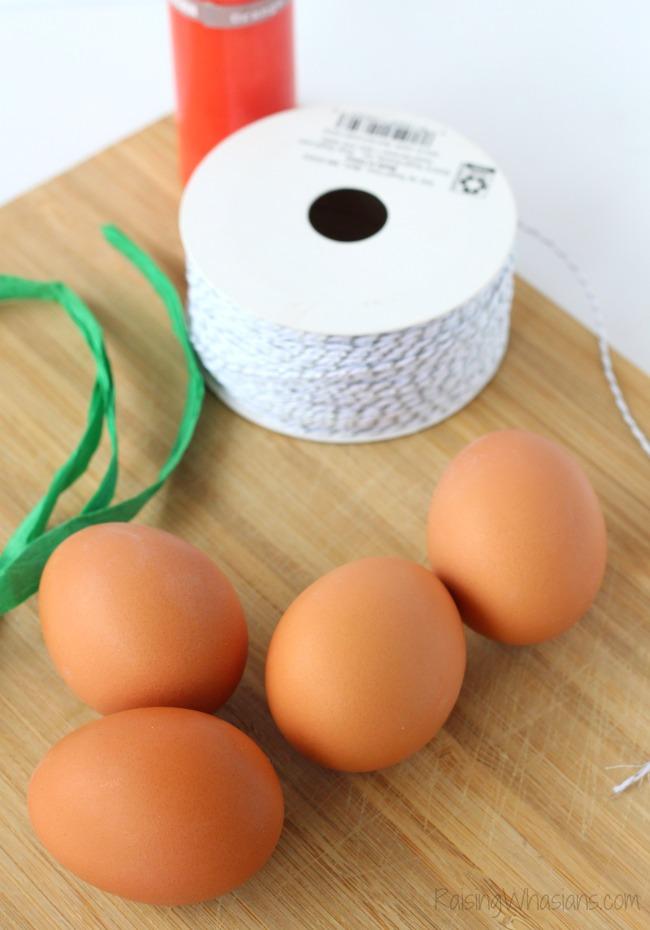 Easy easter egg craft for kids