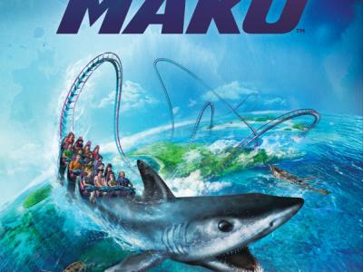 SeaWorld Orlando mako ride opening date